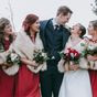 Bridesmaid's hilarious reaction during wedding photos