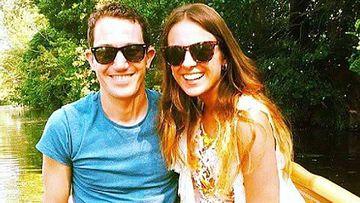 Dean Lucas and girlfriend of three years Josie Cox. (Josie Cox)