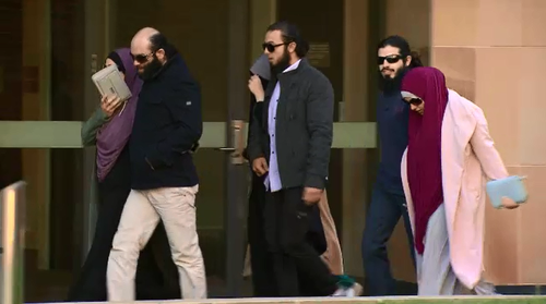 Zahab's family and supporters were at court today as the magistrate spoke.