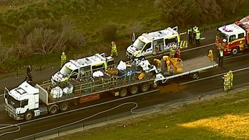 Wallan truck crash