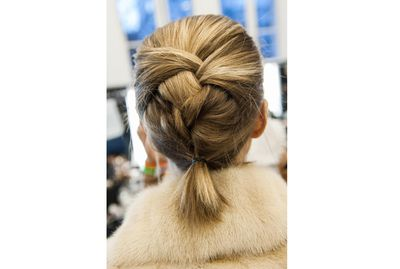 <p>Braiding your hair even if it's short will keep your look polished no matter what the weather throws at you.</p>