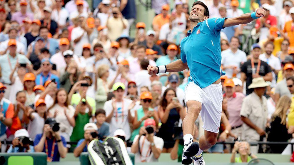 Novak Djokovic. (AFP)