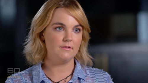 Kendra Murphy said she was raped at St Andrew's College at the University of Sydney. (60 Minutes)