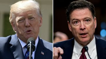 'Trump acted like a mafia boss': Comey book reveals all