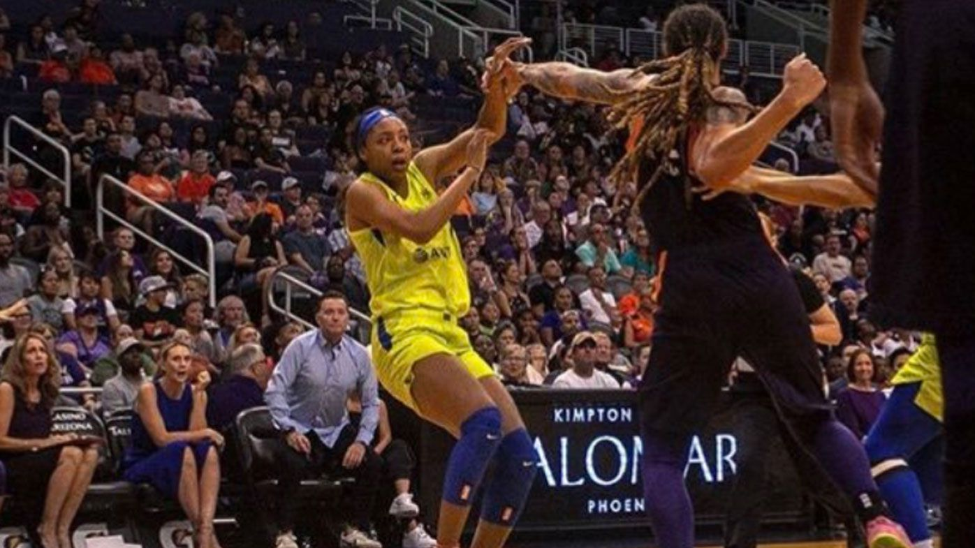 WNBA stars got into a tussle on court