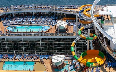 <strong>Best cruise for thrill seekers: Royal Caribbean International</strong>