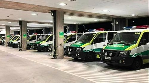 A record 18 ambulances were ramped at Royal Adelaide Hospital last night.