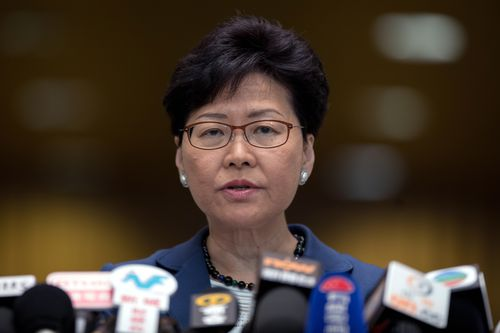 Hong Kong leader Carrie Lam has vowed to push ahead with amendments to laws allowing suspects to be extradited to mainland China.