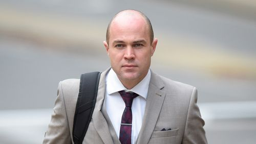 Sgt Emile Cilliers was convicted last month of two counts of attempted murder for the parachute tampering and sabotaging a gas valve at he and his wife's home. Picture: PA