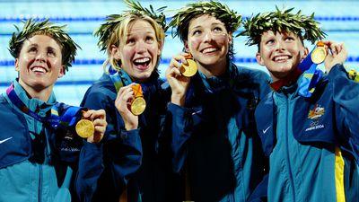 Athens 2004: Women's 4x100m medley relay