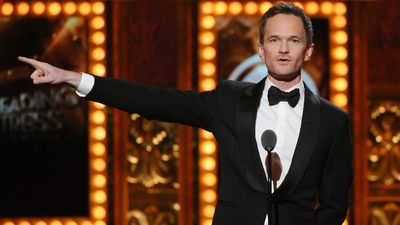 Neil Patrick Harris, who received a Tony last year for his role in 'Hedwig and the Angry Inch', presents an award. (AAP)