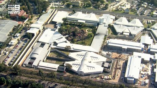 An aerial view of Sydney's Silverwater Correctional Complex.