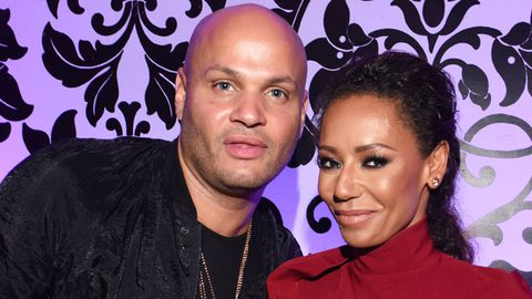 Mel B and Stephen Belafonte attend Maxim Hot 100 party.