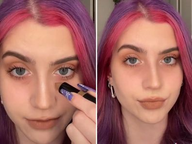 Viral TikTok makeup trend claims eye bags are in