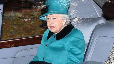 Queen Elizabeth attends New Year's Eve church service in Norfolk, December 2017