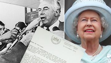 Gough Whitlam, the Queen and the Dismissal letter
