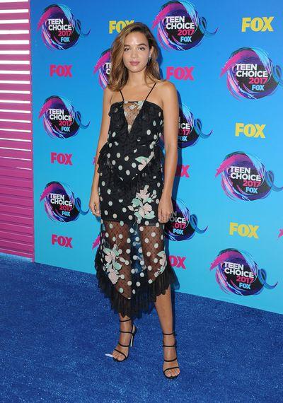 Georgie Flores in Alice McCallat the 2017 Teen Choice Awards, LA