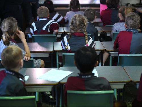 Hundreds of schools in Sydney are full or overflowing with students. (AAP)