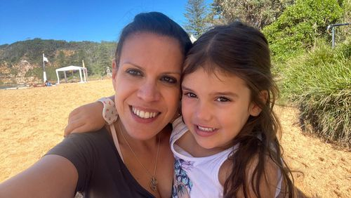 Jules Do Santos, pictured with her daughter, is now in remission from breast cancer.
