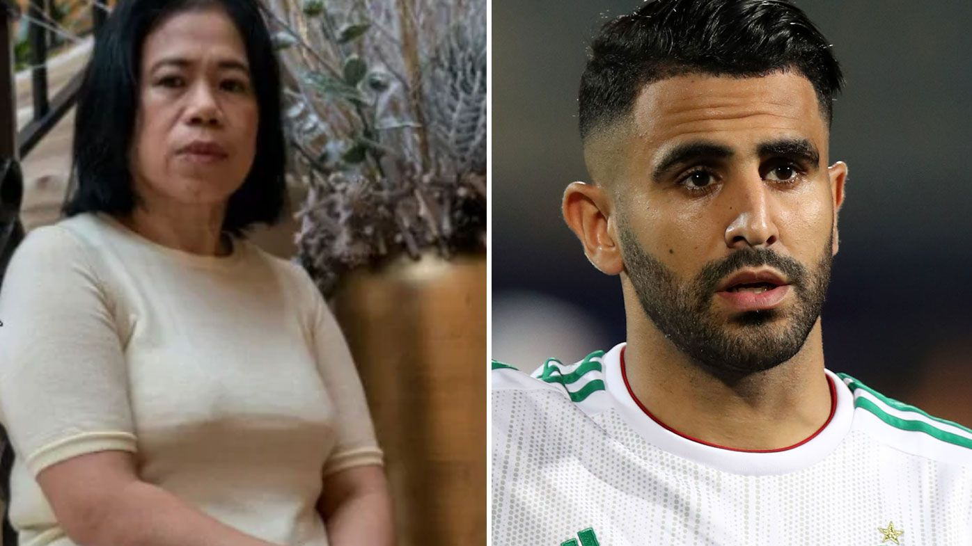 Cathy sues Mahrez