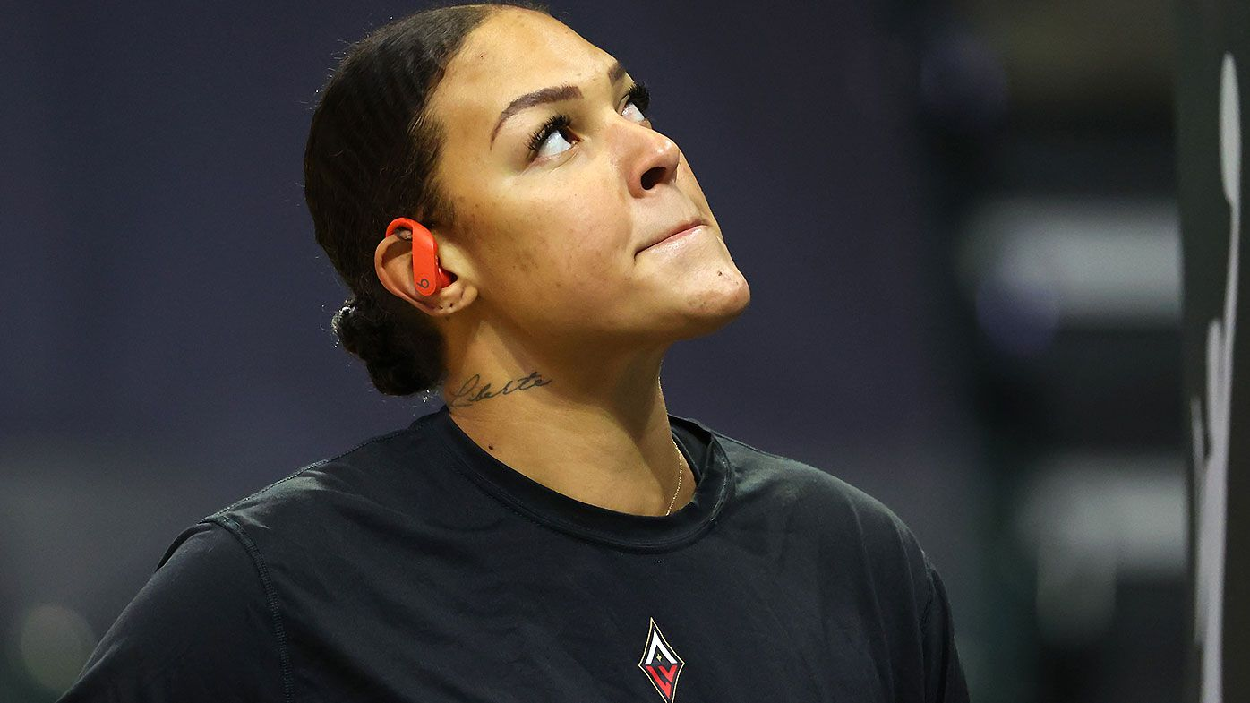 Liz Cambage under investigation for 'breach of the integrity framework and code of conduct'