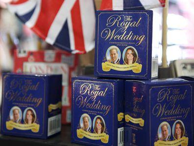 Prince William and Kate Middleton royal wedding memorabilia