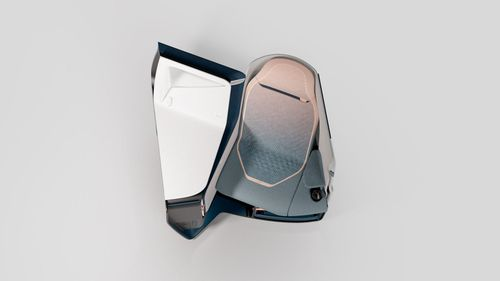 The Airtek seat is a monocoque inspired by auto racing.