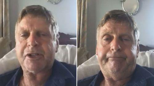 أصيب بيتر غرينوود بفيروس كورونا على شواطئ سيدني الشمالية.