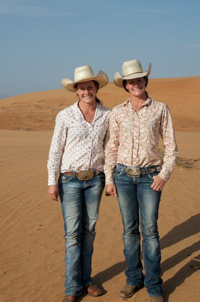 The Cowgirls were stunned by the beauty of the desert.