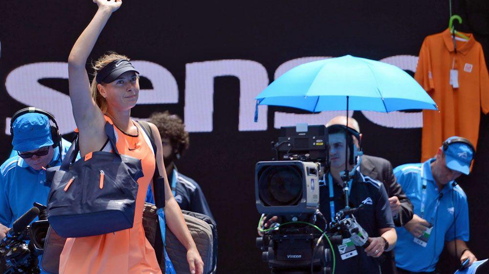 Maria Sharapova. (AFP-file)