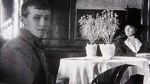 The last photo of Alexei Nikolaevich and his sister Olga. (Photo: Tobolsk History Museum)