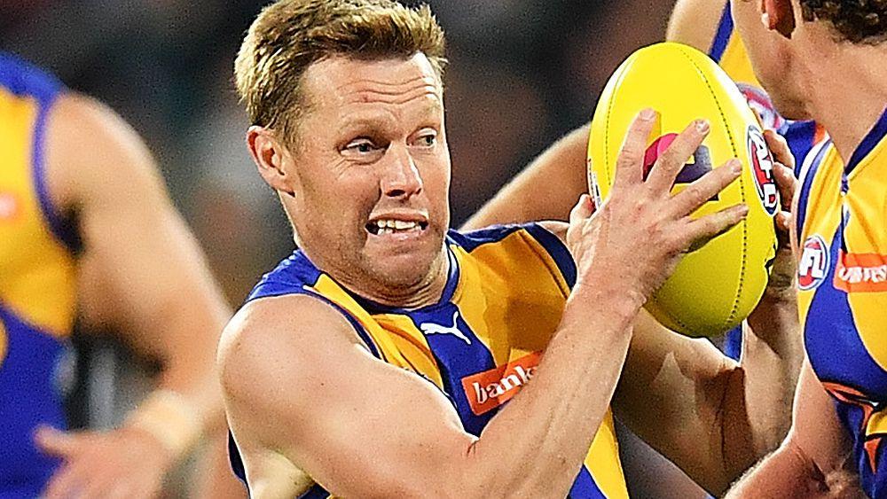AFL finals: West Coast Eagles star Sam Mitchell denies spitting allegation against Port Adelaide