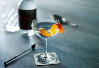Four Pillars martini