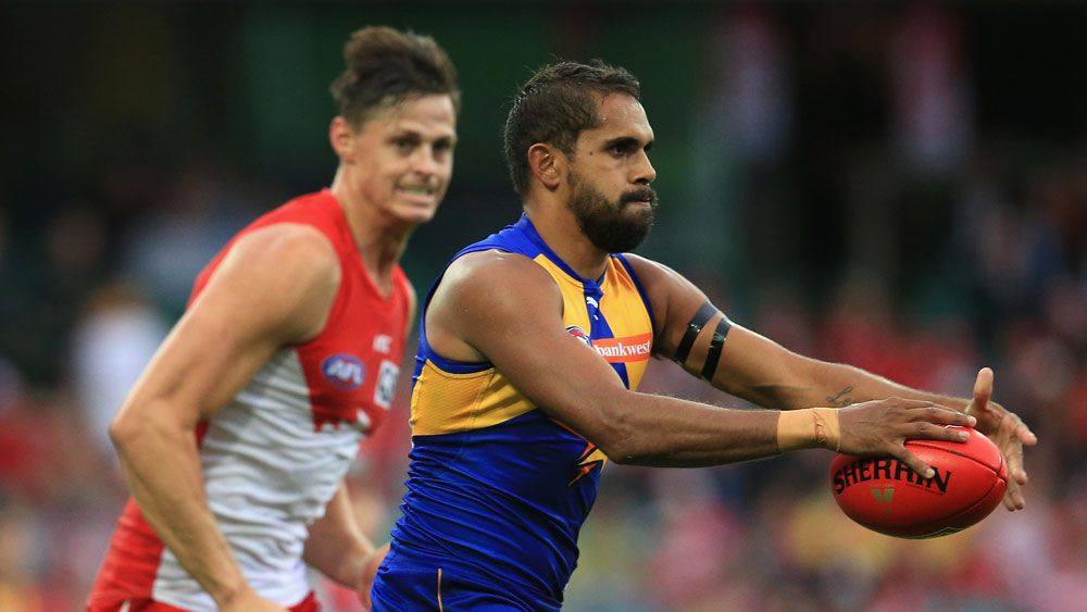 The Eagles' Lewis Jetta has been ruled out of the finals clash with the Bulldogs.(Getty)