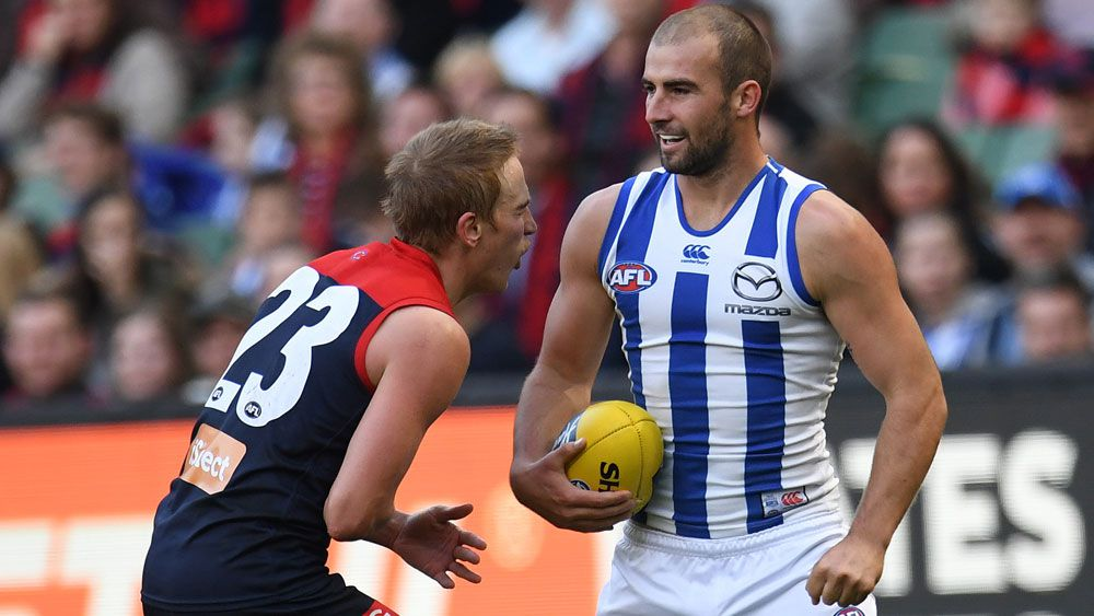 Bernie Vince (l) and Ben Cunnington.