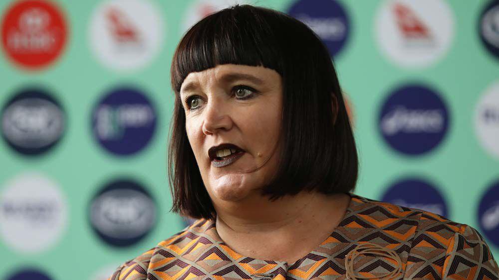 Rugby Australia boss Raelene Castle