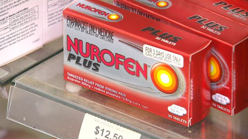 Pain sufferers are stocking up on medications containing codeine. (9NEWS)