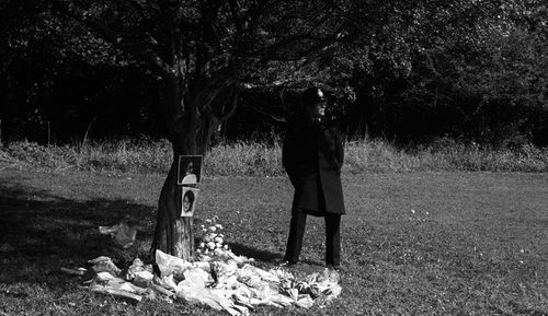 """Bishop hid their bodies in a kids' den in the undergrowth of a park in Brighton, UK in what became known as the """"Babes in the Wood"""" murders."""