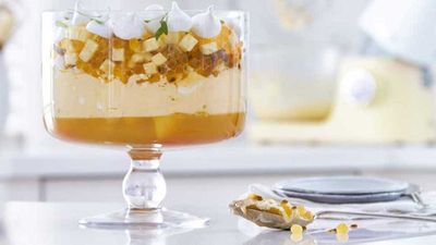 "Recipe:&nbsp;<a href=""http://kitchen.nine.com.au/2016/11/04/08/18/ozzy-summer-trifle"" target=""_top"">Anna Polyviou's ozzy summer trifle</a>"