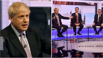 At a sometimes ill-tempered BBC debate, Johnson repeated his pledge that he would take Britain out of the EU by October 31.