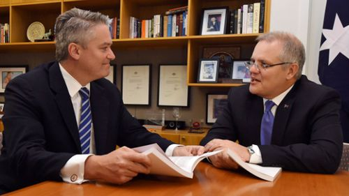 Cormann says the Liberal Party are in a better position to win the next election under Scott Morrison.