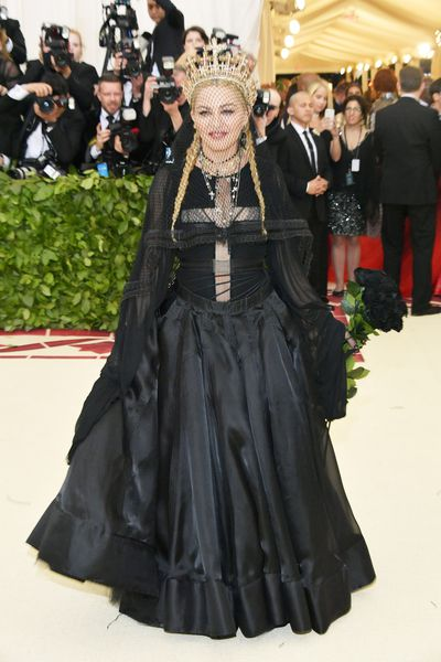 Madonna. In Jean Paul Gaultier. At the Met Gala. Honouring a Catholic themed celebration. Mic drop.