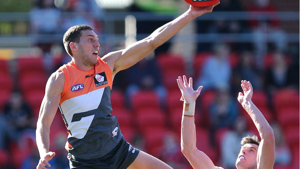 GWS's Tom Downie (AAP)