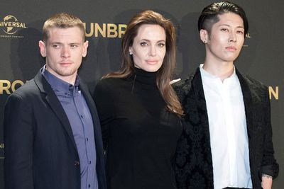 Not even her main men from <I>Unbroken</I> could help Ange crack a smile. <br/><br/>But perhaps Brad could?