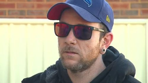 Resident Matt Richardson spoke exclusively to 9NEWS about his near-miss.