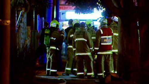 Emergency crews at the scene. (9NEWS)