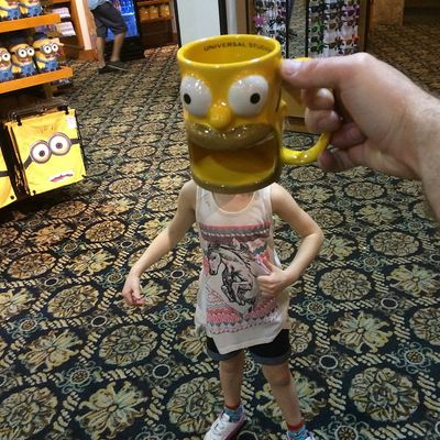 Why so shocked? It's only Homer Simpson. (Instagram)