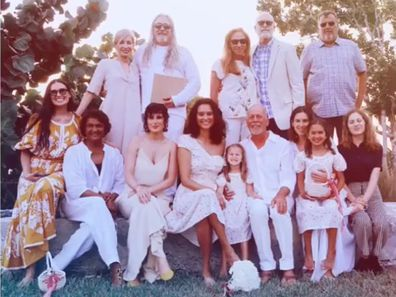 Demi Moore, Bruce Willis, relationship timeline, wedding