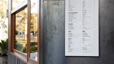 Locale Italian Pizzeria, Canberra ACT - nominated for best identity design