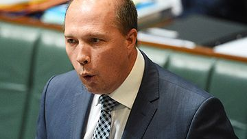 Peter Dutton in Parliament (AAP)